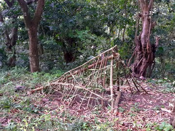 Build a simple shelter 3