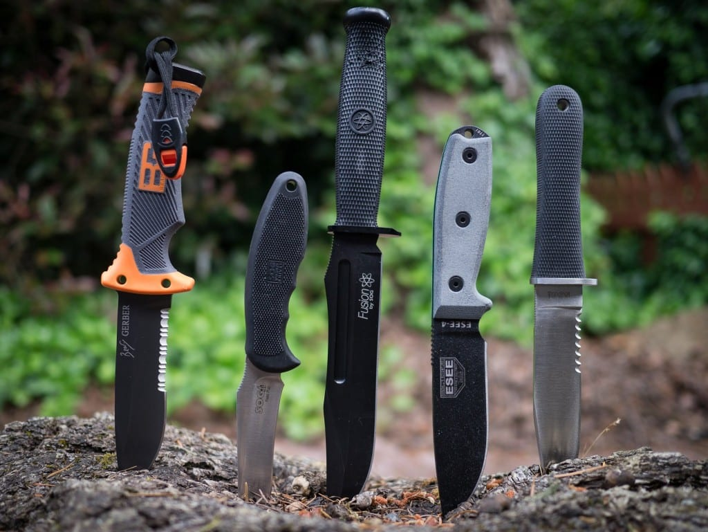 A range of knife choices