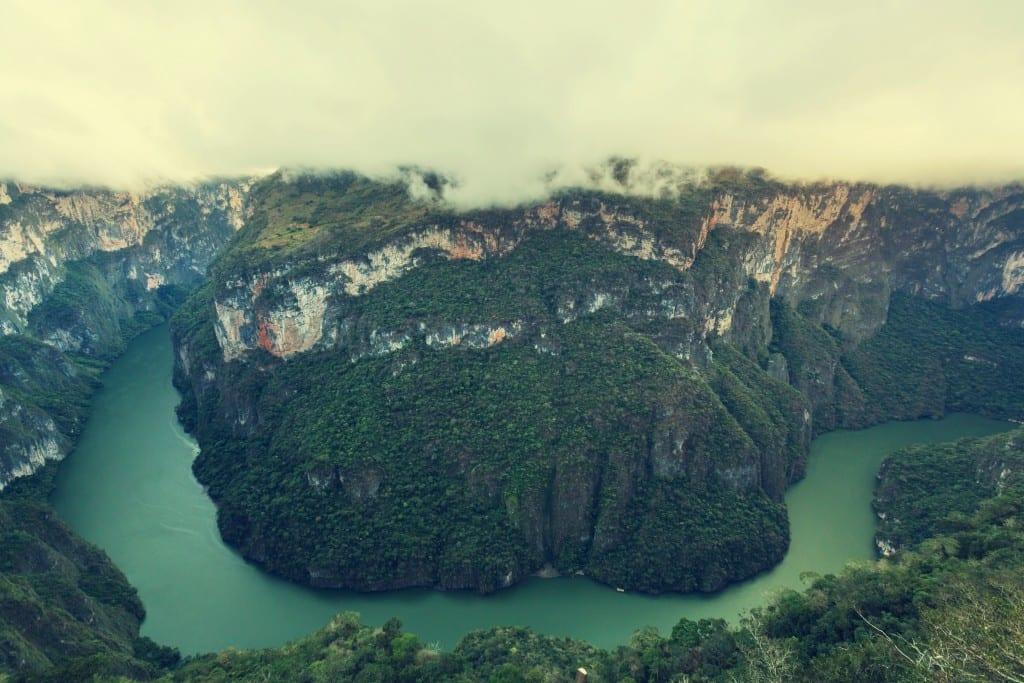 Sample canyon