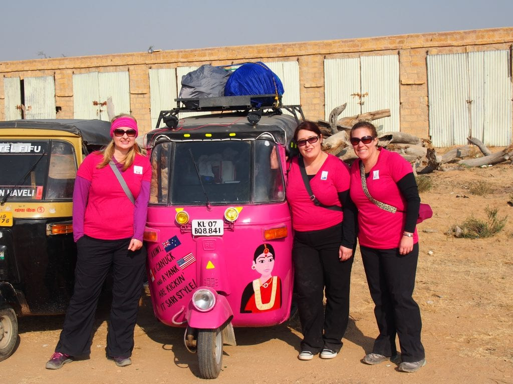 Camping for Women Doing the Rickshaw Run