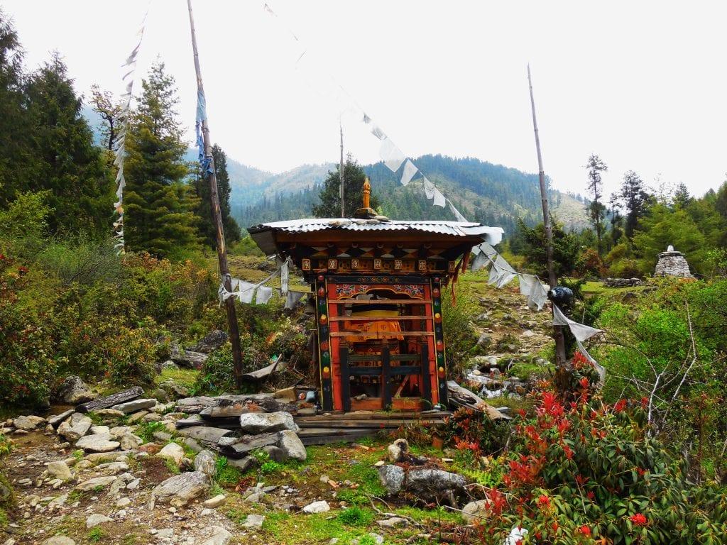 Trekking in Bhutan 10