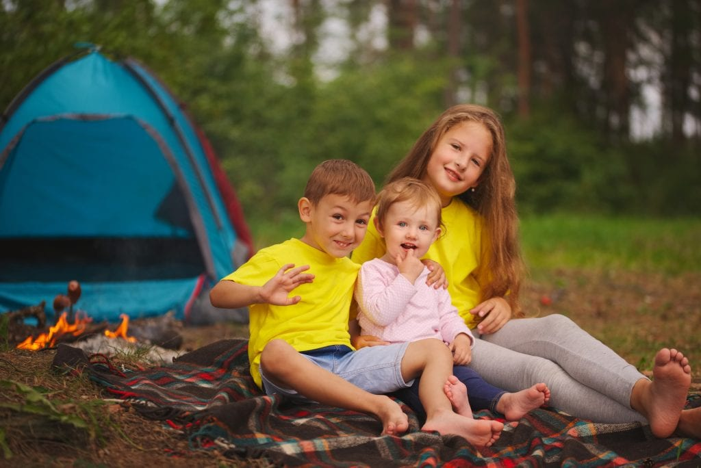 Babys first camping trip 3