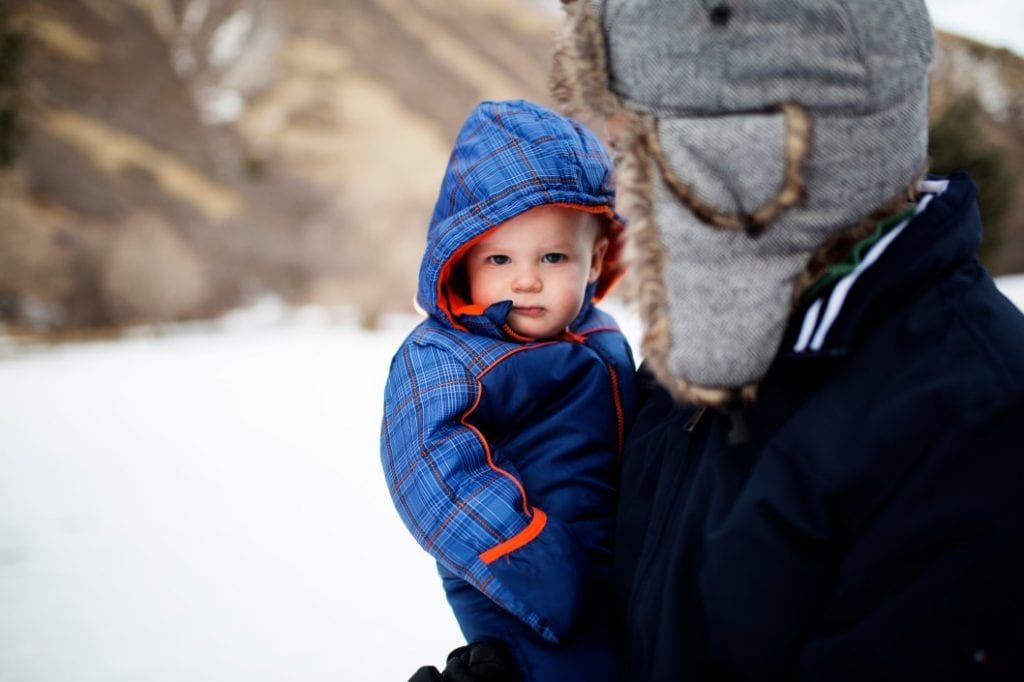 Winter Camping with baby 2