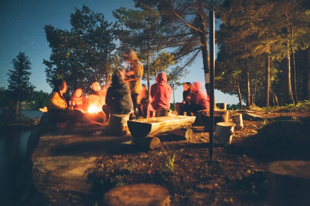 Camping Bachelorette Party 2