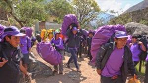 porter voices of Peru's Camino Inca 2