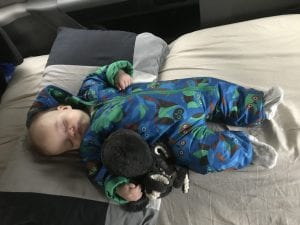 Campervanning with a baby 1